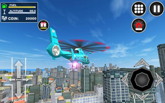 City Helicopter Flight screenshot 3