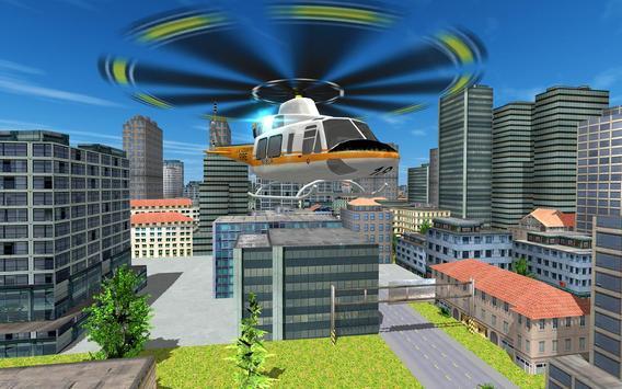 City Helicopter Flight screenshot 4