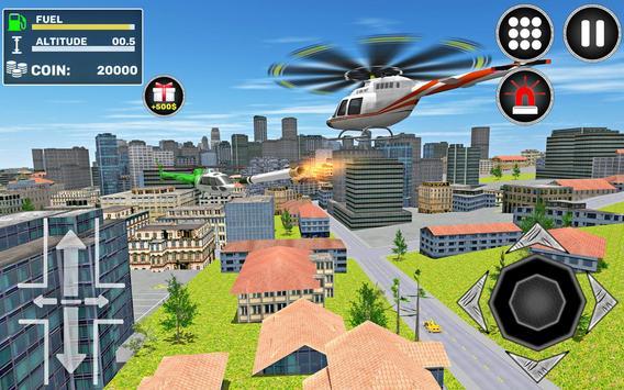 City Helicopter Flight screenshot 6