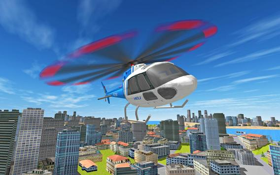 City Helicopter Flight screenshot 7