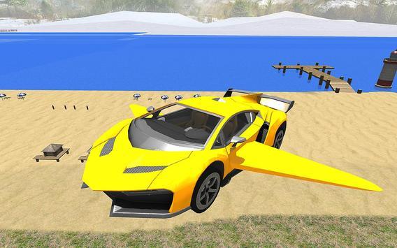 Real Flying Car Simulator Driver poster