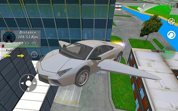 Real Flying Car Simulator Driver screenshot 13