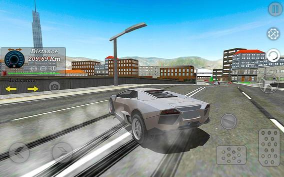 Real Flying Car Simulator Driver screenshot 2