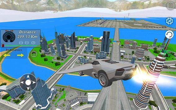 Real Flying Car Simulator Driver screenshot 3
