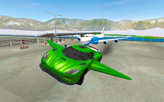 Real Flying Car Simulator Driver screenshot 4