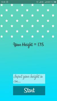 HeightGram - Measure your height with celebrities poster