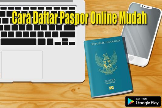 Cara Daftar Antrian Paspor Online poster