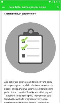Cara Daftar Antrian Paspor Online screenshot 3