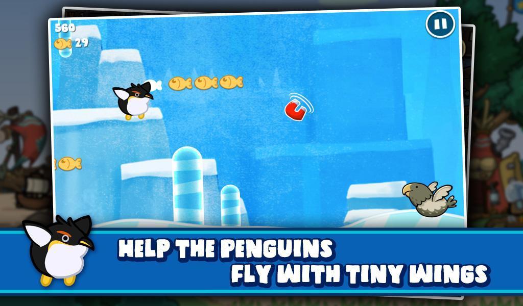Penguin Go! : Tiny Wings Adventure 2