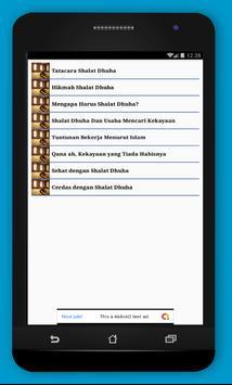Bertambah Kaya,Sehat,Cerdas dengan Shalat Dhuha screenshot 1