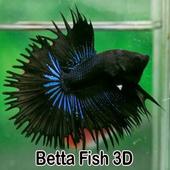 Betta Fish 3D icon