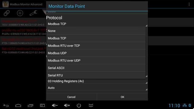 Modbus Monitor Advanced screenshot 9