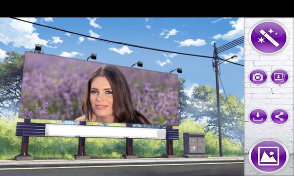 Billboard Photo Frames poster