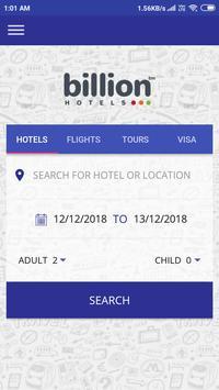 Billion Hotels - Flight, Holiday ,Tour Packages screenshot 4