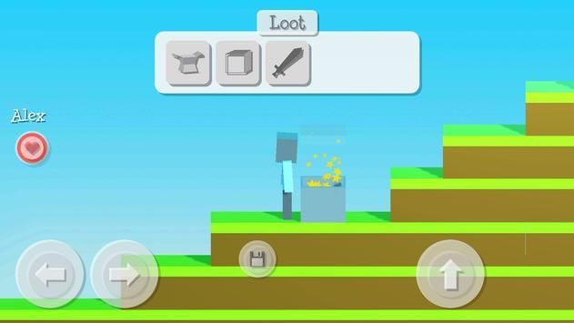 Building Craft Survival Game 2.5D screenshot 5