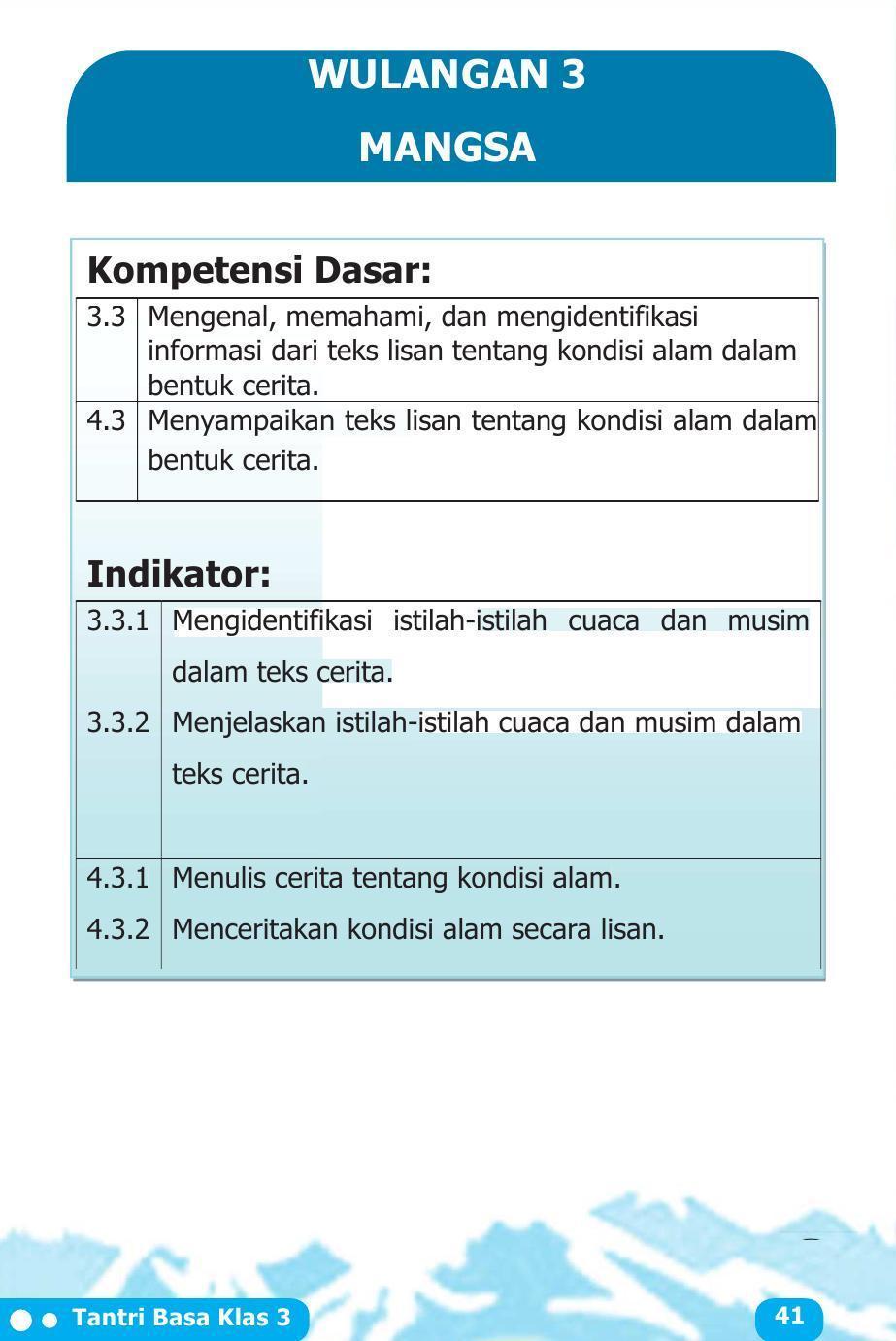 Tantri Basa Jawa Kelas 3 - Guru Galeri