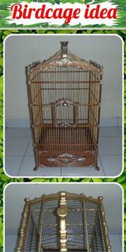 Birdcage idea poster