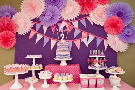 Birthday Party Decoration Ideas poster