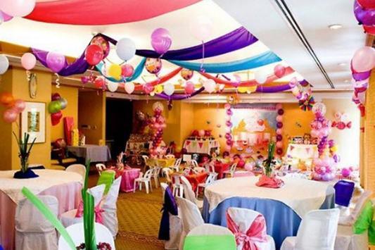 Birthday Party Decoration Ideas screenshot 20