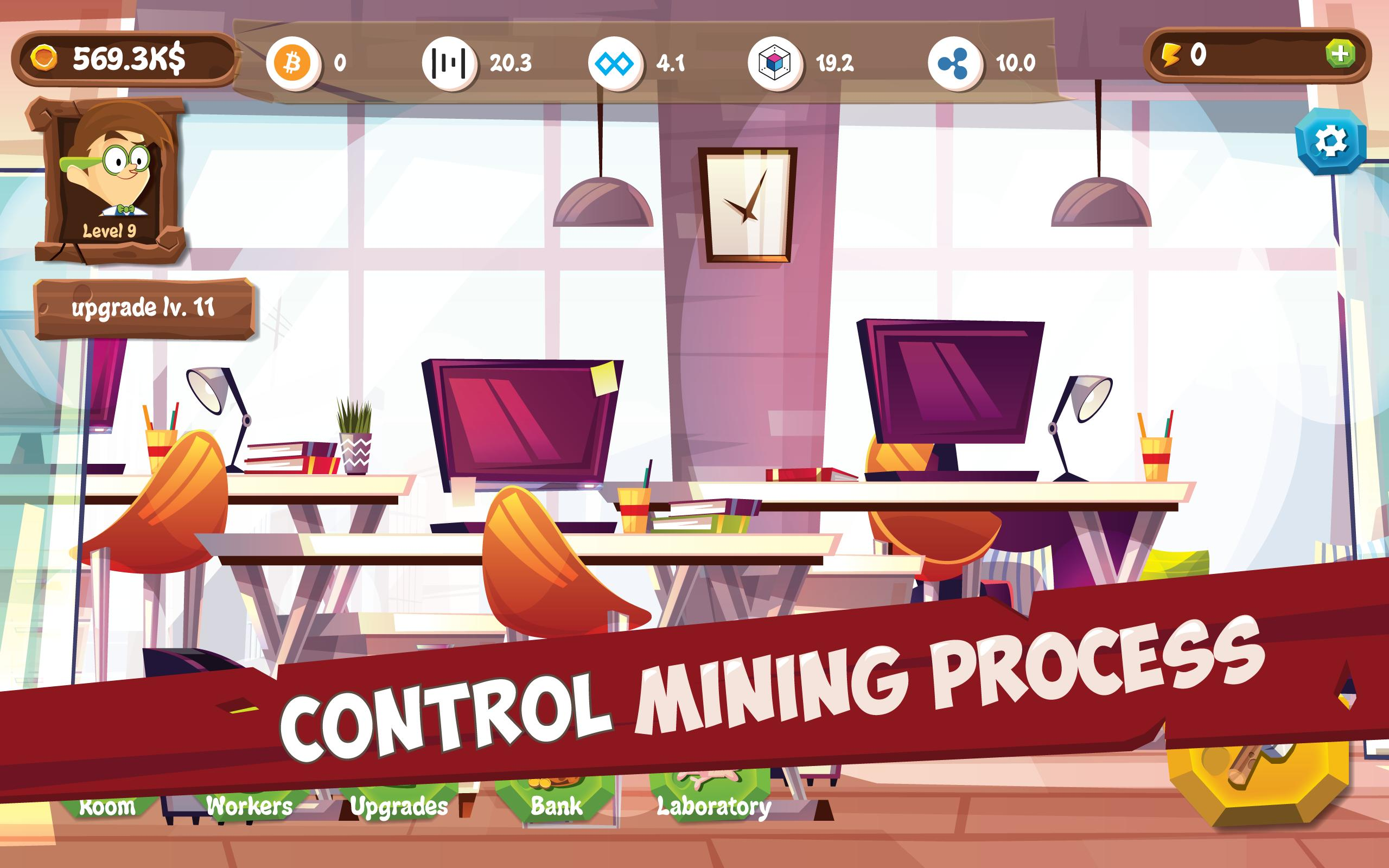 Bitcoin Mining Simulator - Idle Clicker Tycoon for Android - APK