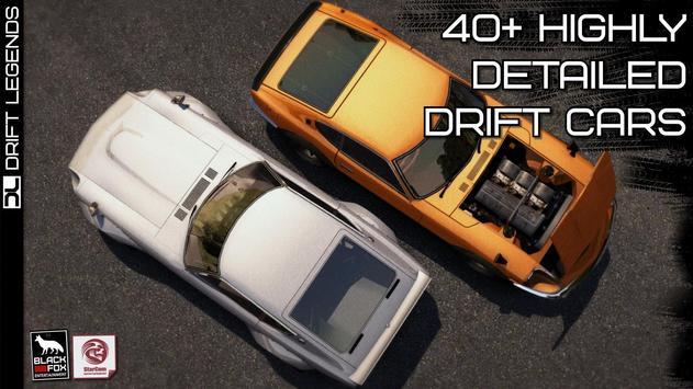 Drift Legends تصوير الشاشة 19