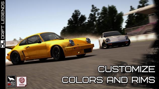 Drift Legends تصوير الشاشة 13