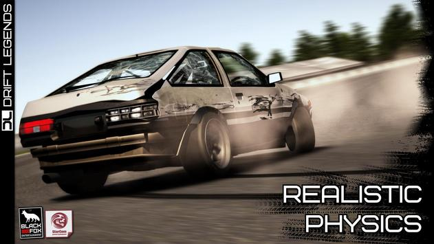 Drift Legends تصوير الشاشة 1