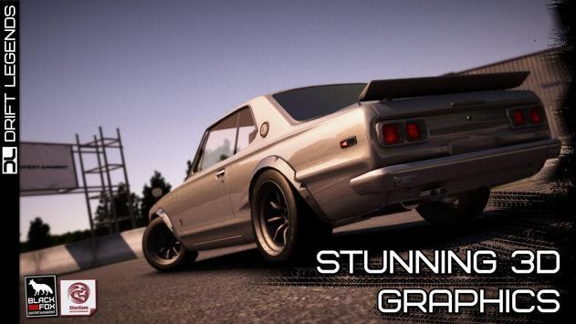 Drift Legends تصوير الشاشة 2