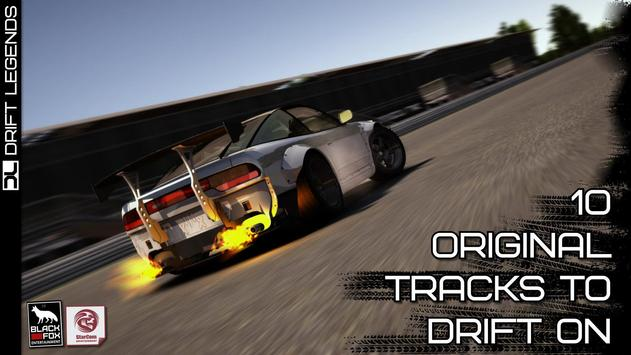 Drift Legends تصوير الشاشة 4