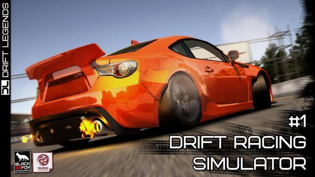 Drift Legends تصوير الشاشة 8
