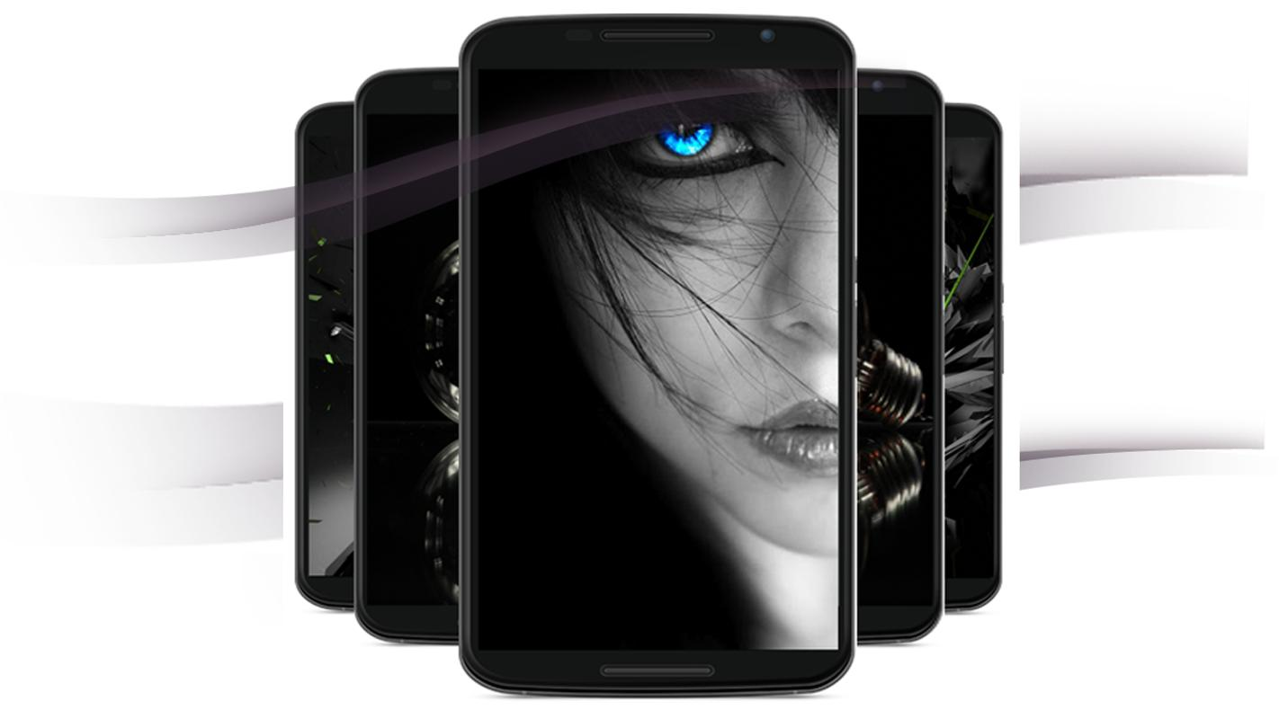 black wallpaper for Android - APK Download