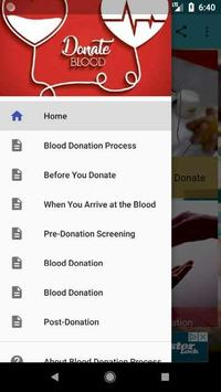 Blood Donation Process poster