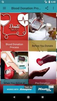 Blood Donation Process screenshot 1