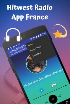 Hitwest Radio App France screenshot 2