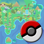 Kanto Guide - Map and services icon
