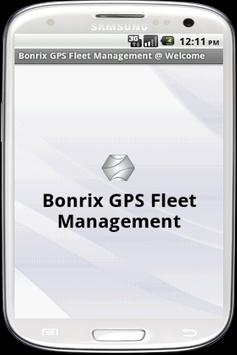 Bonrix GPS Fleet Management poster