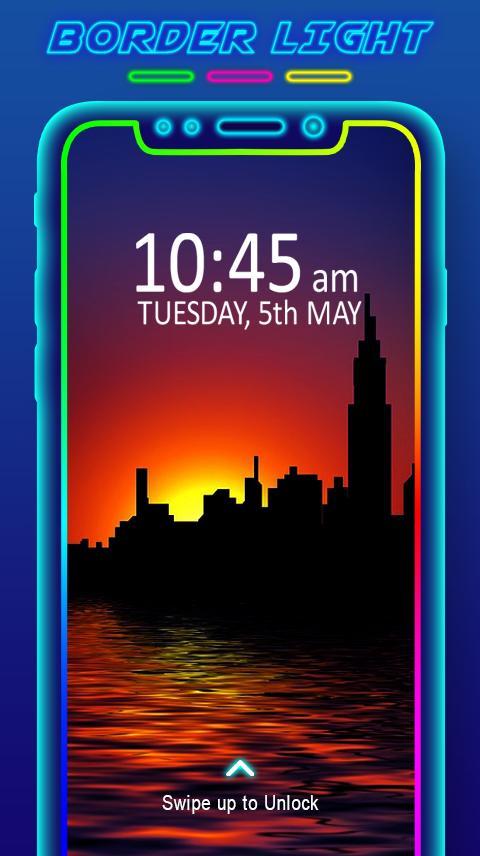 Border Light - LED Color Live Wallpaper for Android - APK