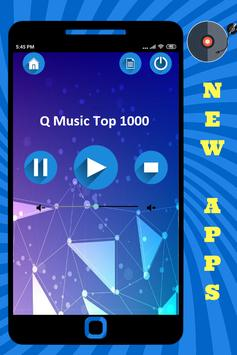 Q Music Top 1000 App Radio NL Station Free Online poster