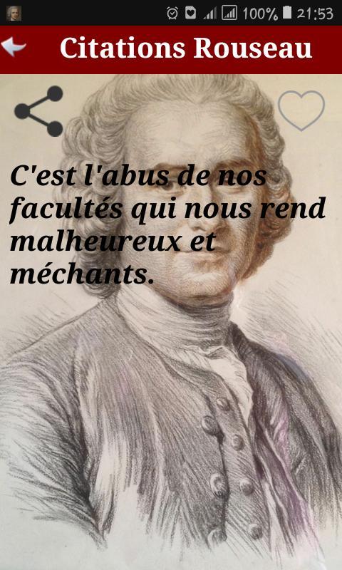 Citation Jean Jacques Rousseau For Android Apk Download