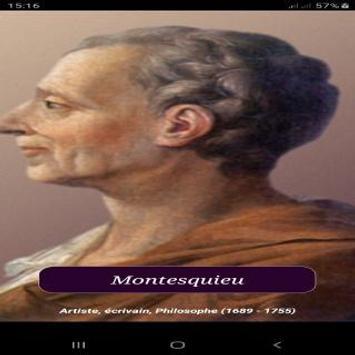 Citations de Montesquieu poster