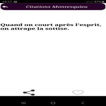 Citations de Montesquieu screenshot 3