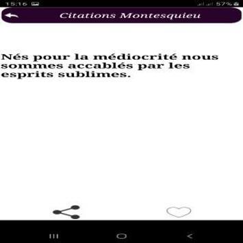 Citations de Montesquieu screenshot 4