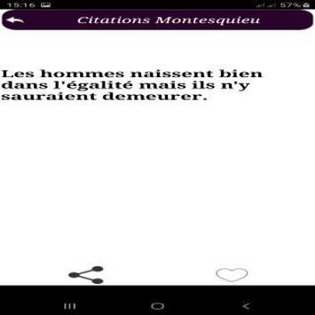 Citations de Montesquieu screenshot 5
