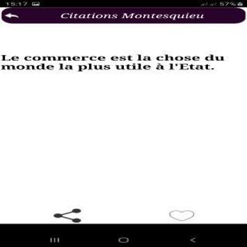 Citations de Montesquieu screenshot 7