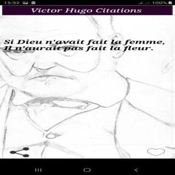 Citations de Victor Hugo screenshot 1
