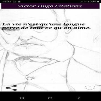 Citations de Victor Hugo screenshot 2