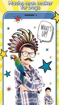 Boy Hair Salon poster