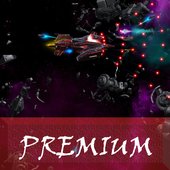 Space Shooter : AsaP Bullet Hell Red icon