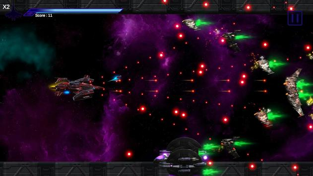 Space Shooter : AsaP Bullet Hell Red poster