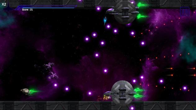 Space Shooter : AsaP Bullet Hell Red screenshot 1
